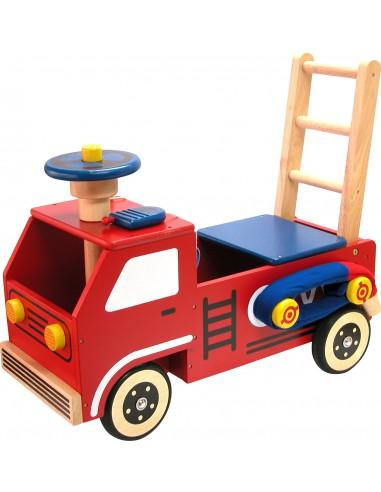 Loop/duwwagen Brandweer