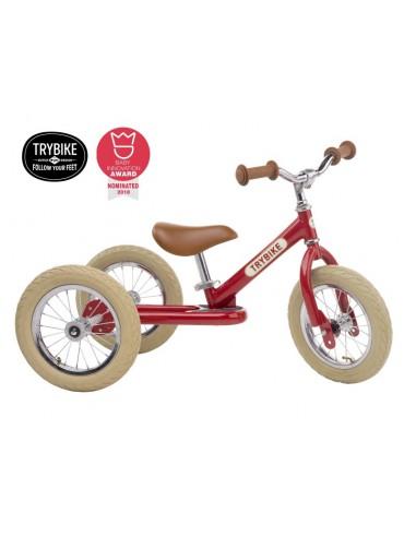 Trybike steel 2in1 rood vintage