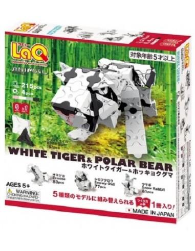 LaQ White Tiger & Polar Bear